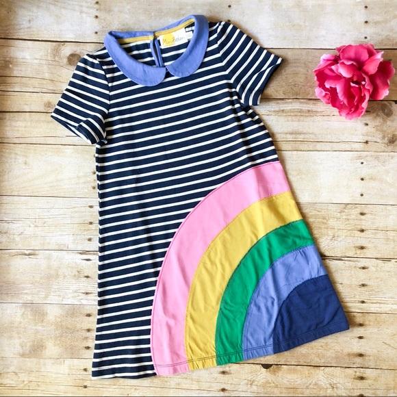 368cdd896271 Mini Boden rainbow dress 6-7. M_5b01ddbfa4c485d63220373b